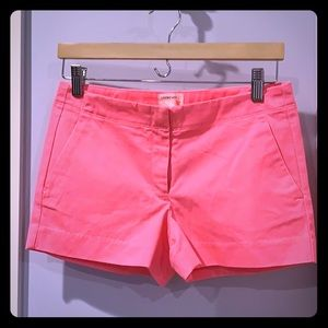 Brand new/tags crewcuts pink girls shorts size 14